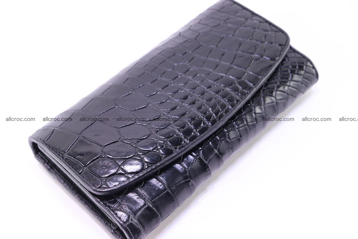Crocodile trifold wallet for women 278 Foto 5
