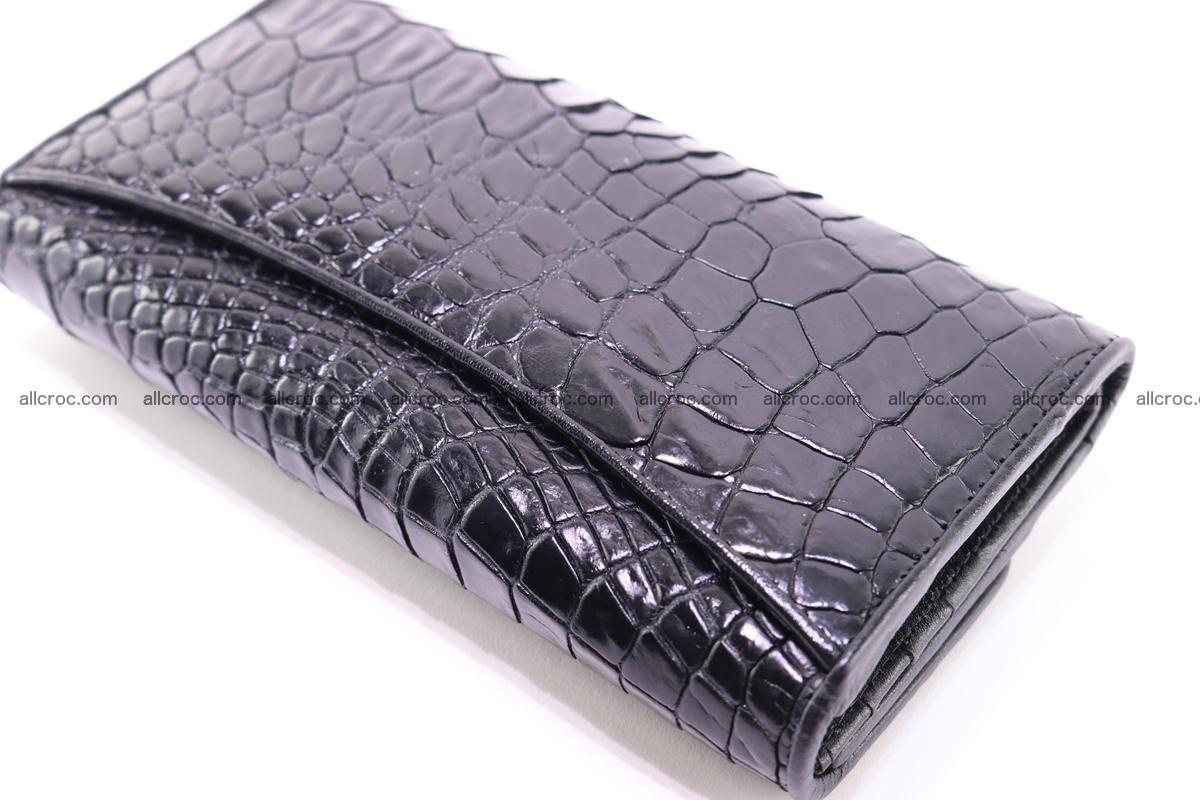 Crocodile trifold wallet for women 278 Foto 8