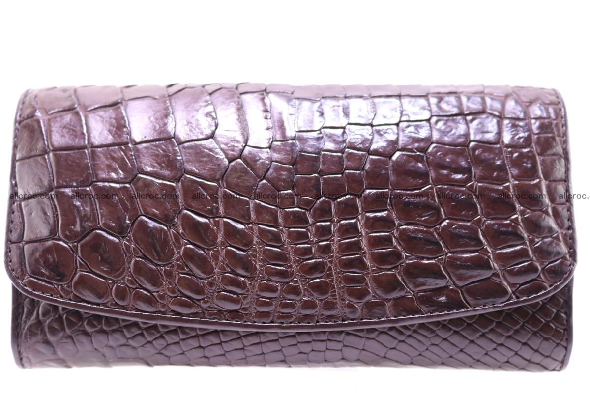 Crocodile trifold wallet for women 279 Foto 0