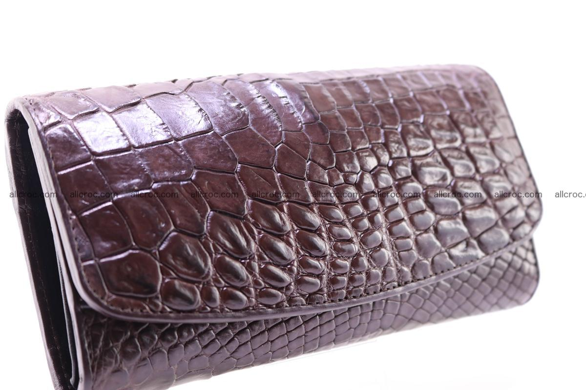 Crocodile trifold wallet for women 279 Foto 1