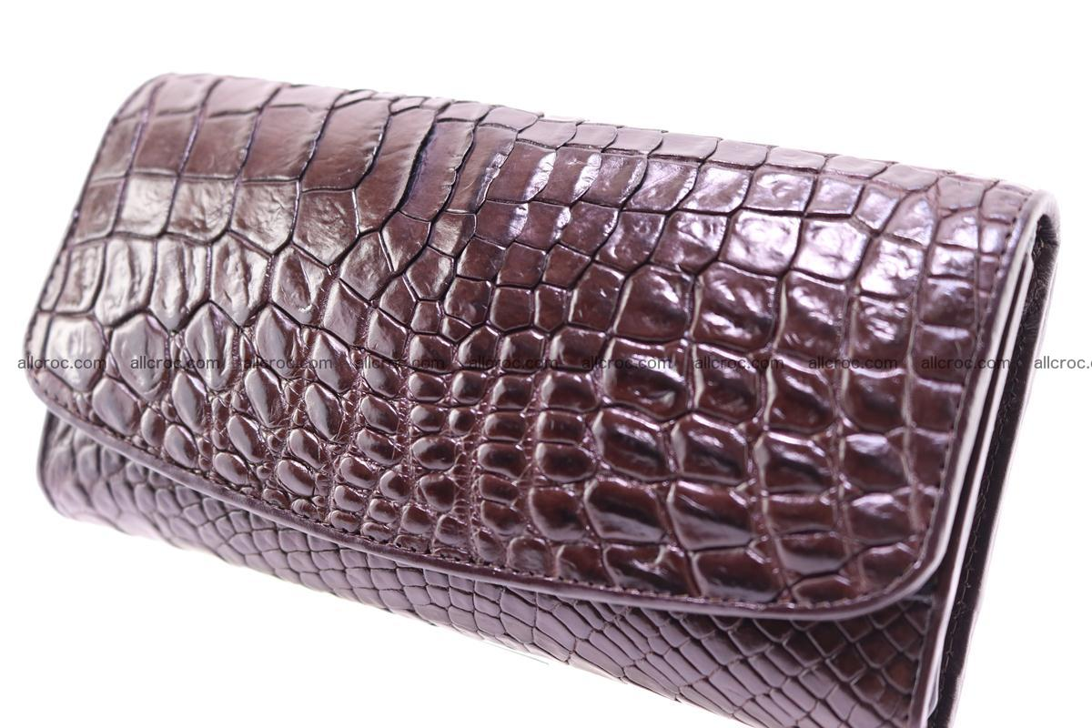 Crocodile trifold wallet for women 279 Foto 2