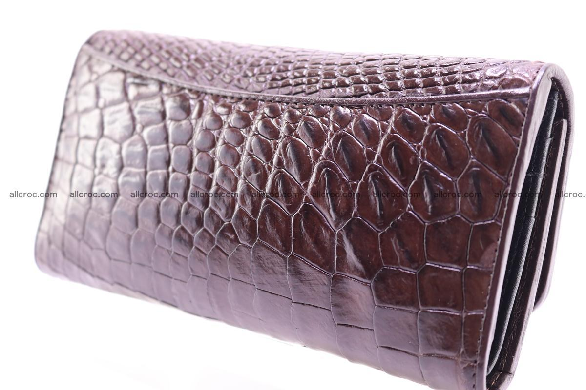 Crocodile trifold wallet for women 279 Foto 7