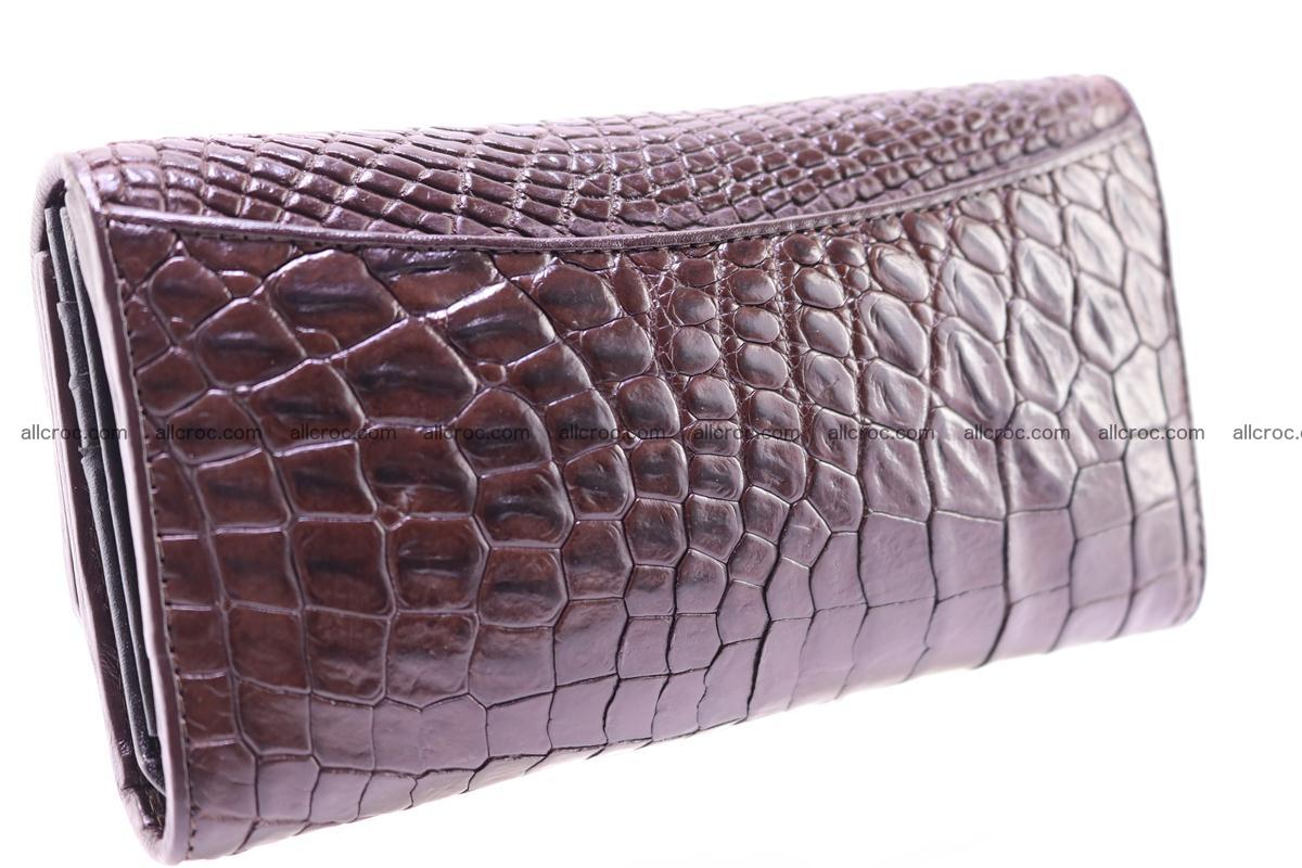 Crocodile trifold wallet for women 279 Foto 6