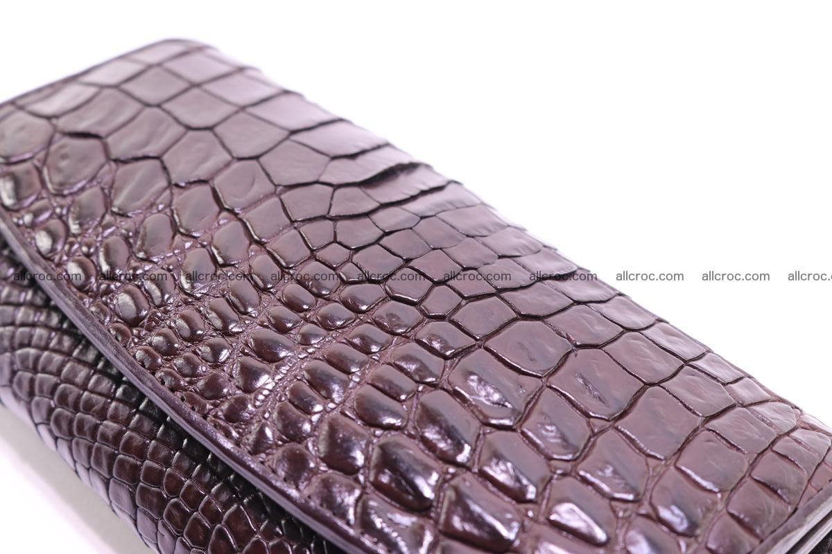 Crocodile trifold wallet for women 279 Foto 4