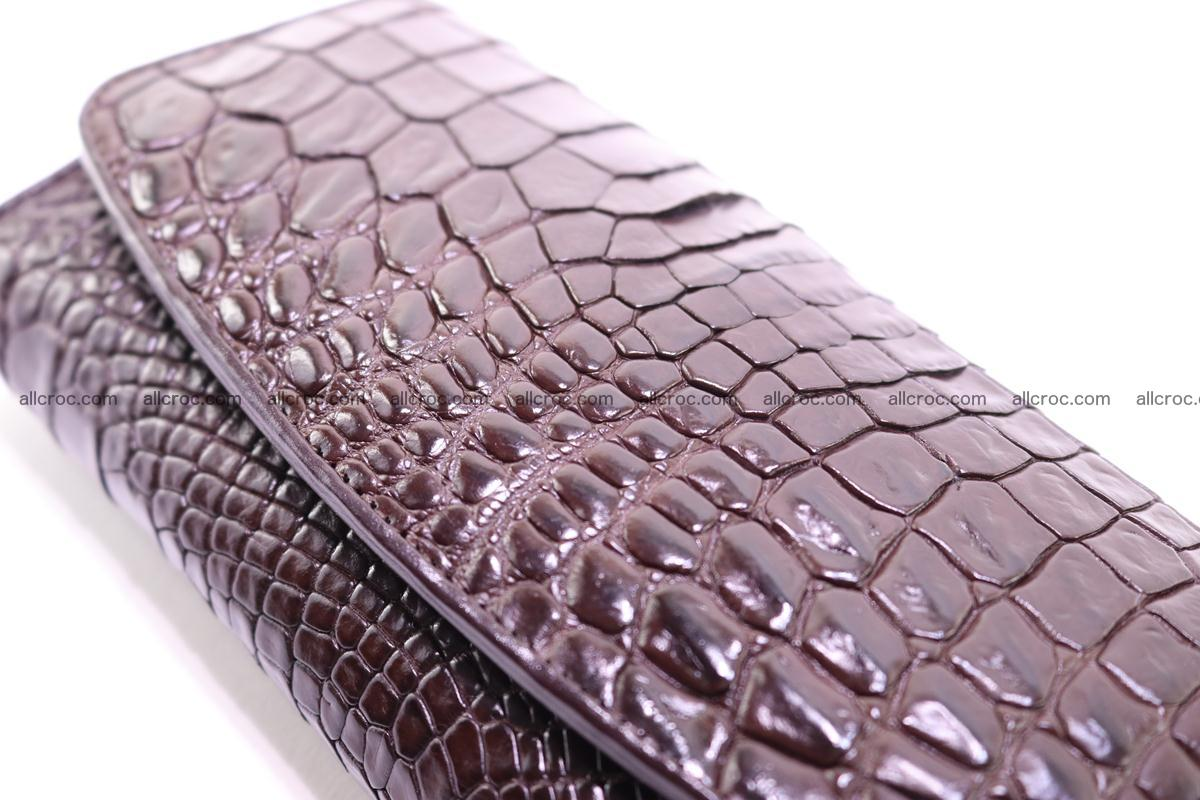 Crocodile trifold wallet for women 279 Foto 9