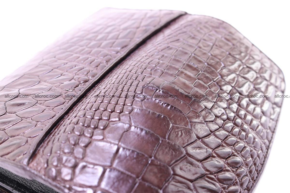 Crocodile trifold wallet for women 279 Foto 12