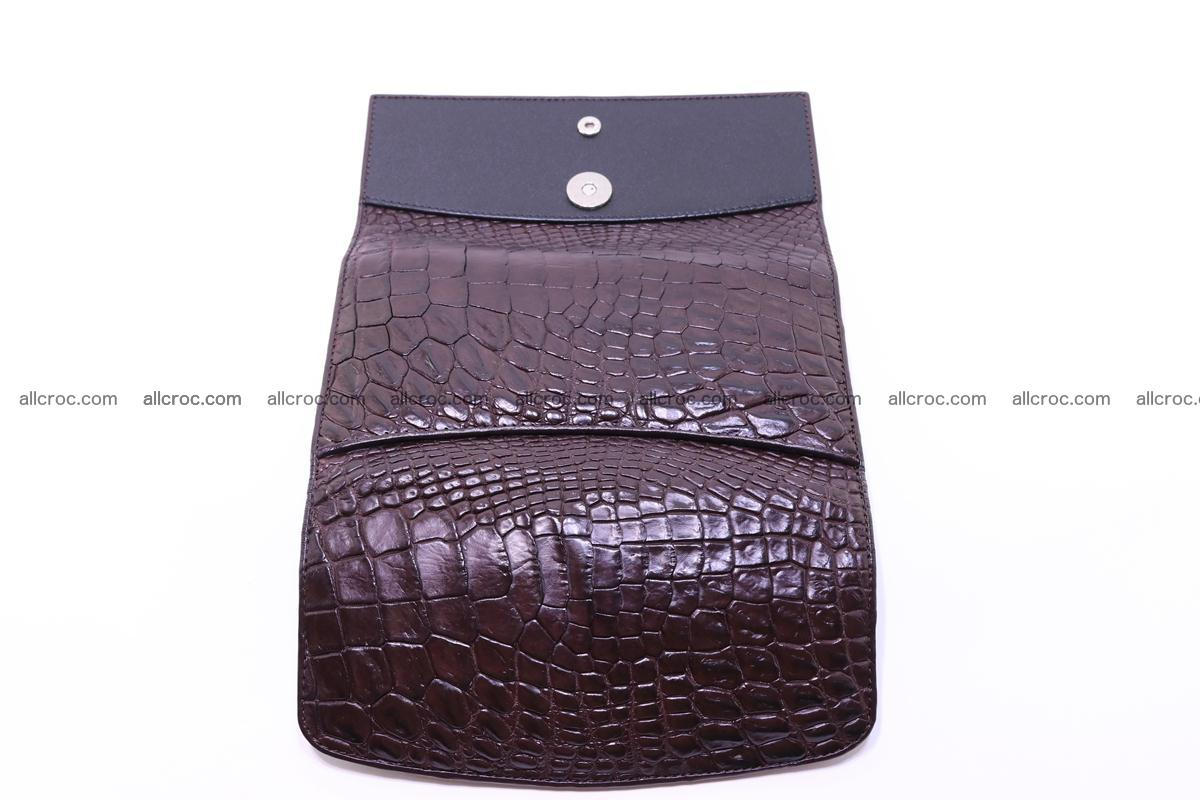 Crocodile trifold wallet for women 279 Foto 14