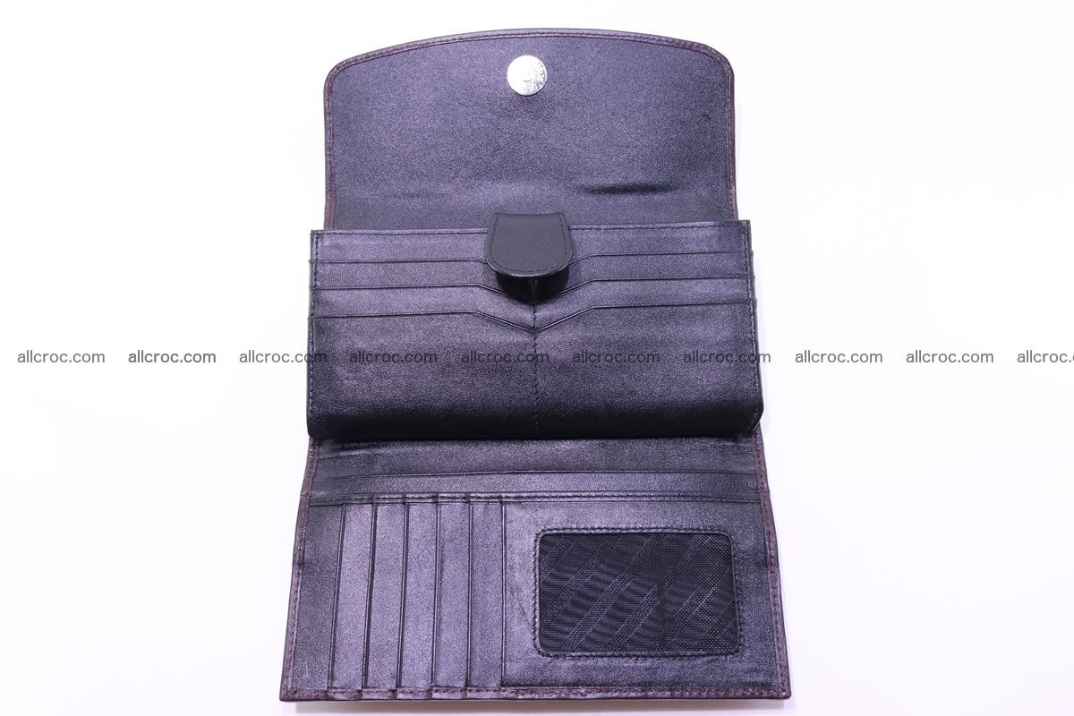 Crocodile trifold wallet for women 279 Foto 15