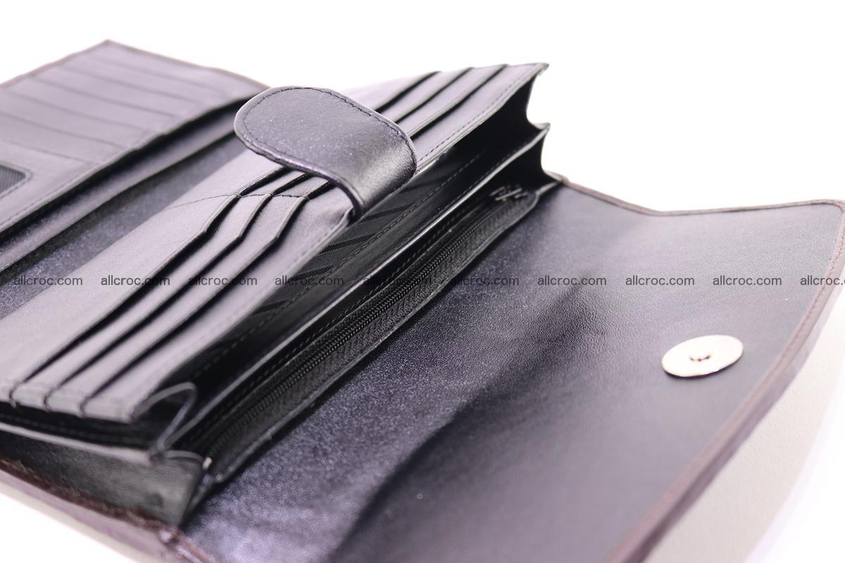 Crocodile trifold wallet for women 279 Foto 17