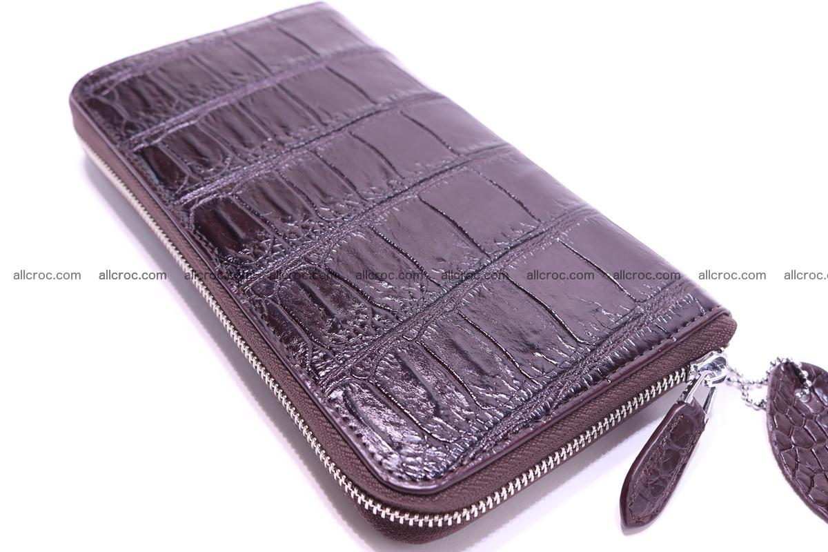 Crocodile wallet-clutch 1 zip 318 Foto 4
