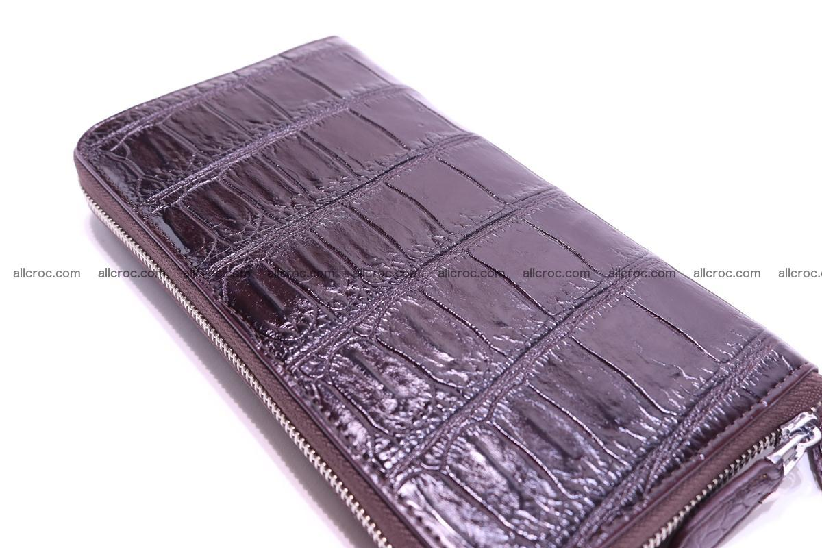 Crocodile wallet-clutch 1 zip 318 Foto 5