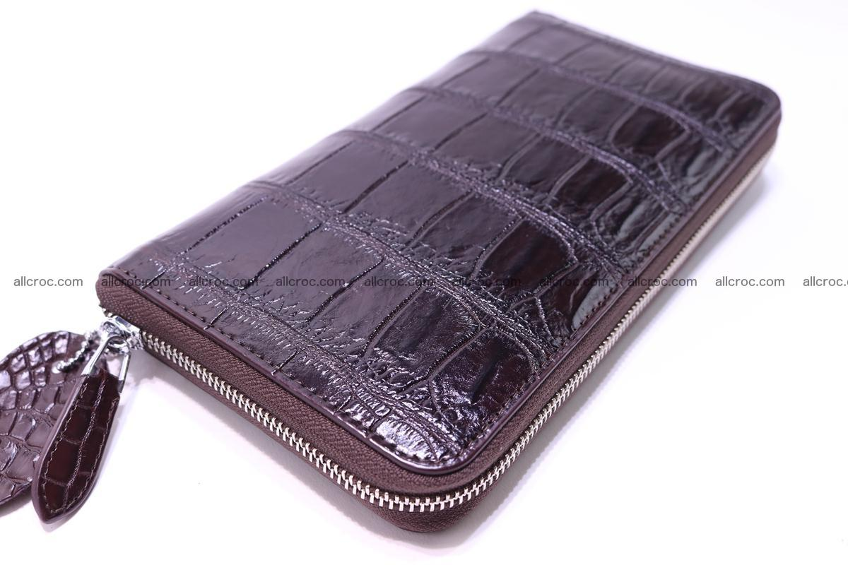Crocodile wallet-clutch 1 zip 318 Foto 2