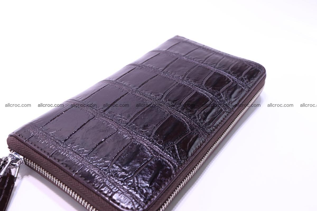 Crocodile wallet-clutch 1 zip 318 Foto 3