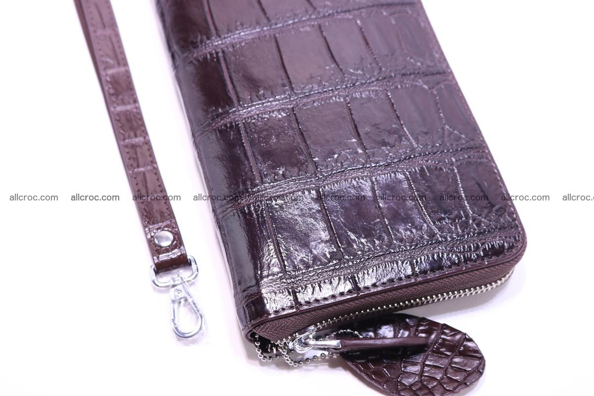 Crocodile wallet-clutch 1 zip 318 Foto 7