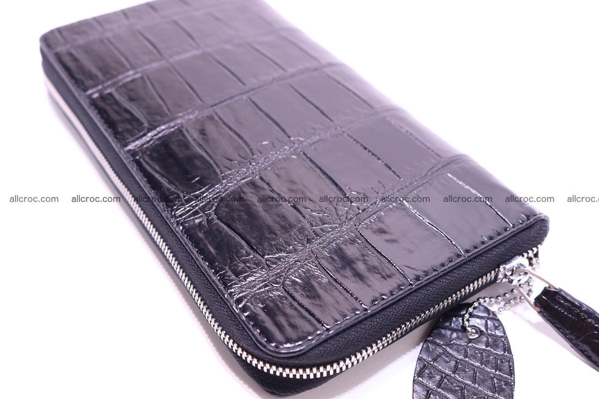 Crocodile wallet-clutch 1 zip 319 Foto 2