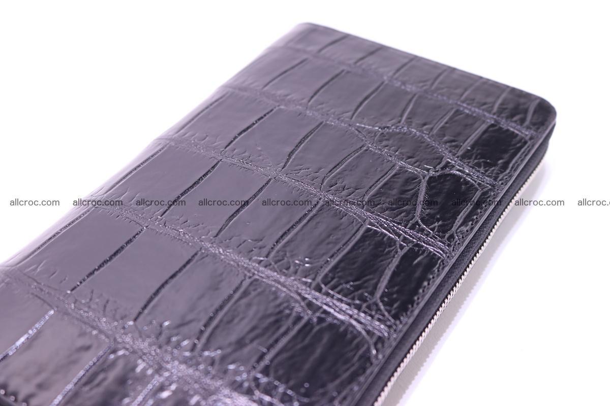 Crocodile wallet-clutch 1 zip 319 Foto 5
