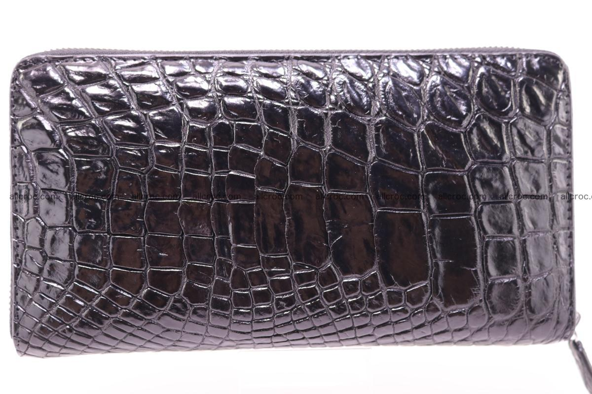 Crocodile wallet-clutch 1 zip 323 Foto 0
