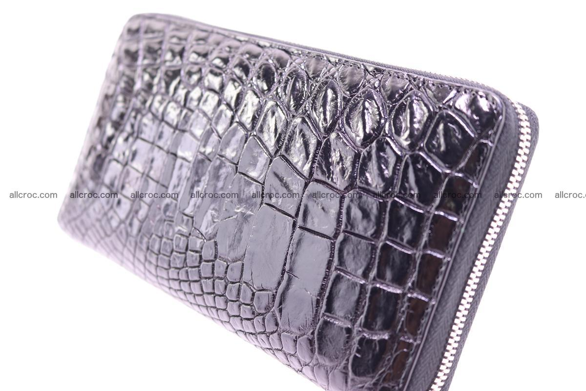 Crocodile wallet-clutch 1 zip 323 Foto 3