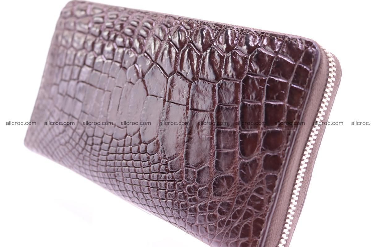 Crocodile wallet-clutch 1 zip 322 Foto 4