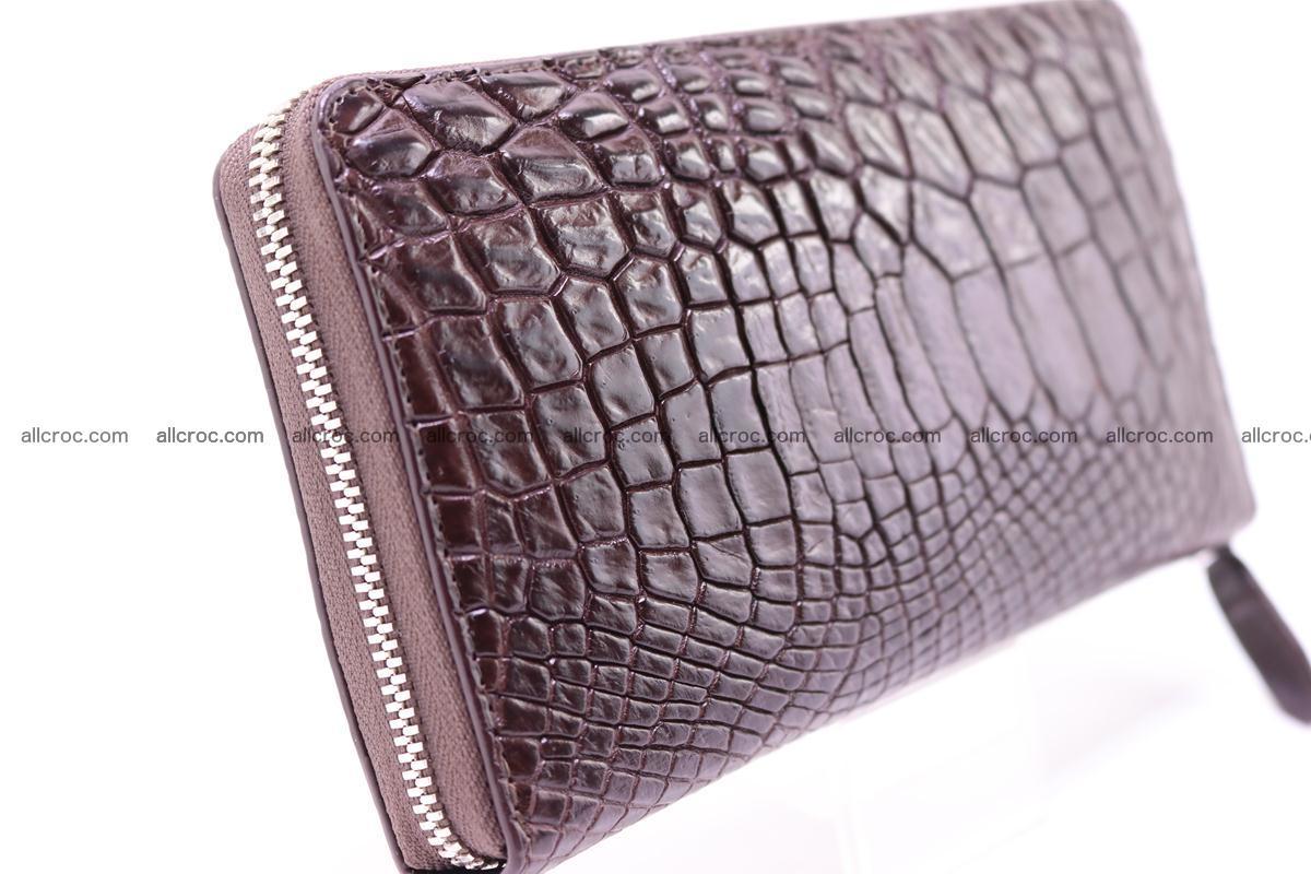 Crocodile wallet-clutch 1 zip 322 Foto 2