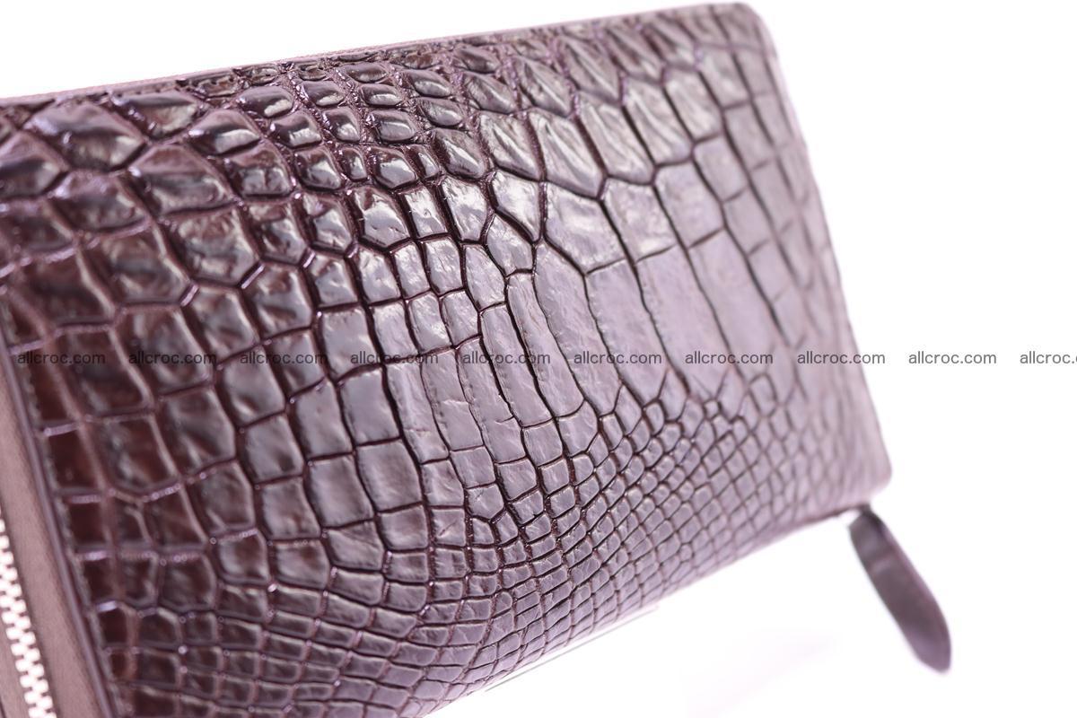 Crocodile wallet-clutch 1 zip 322 Foto 3