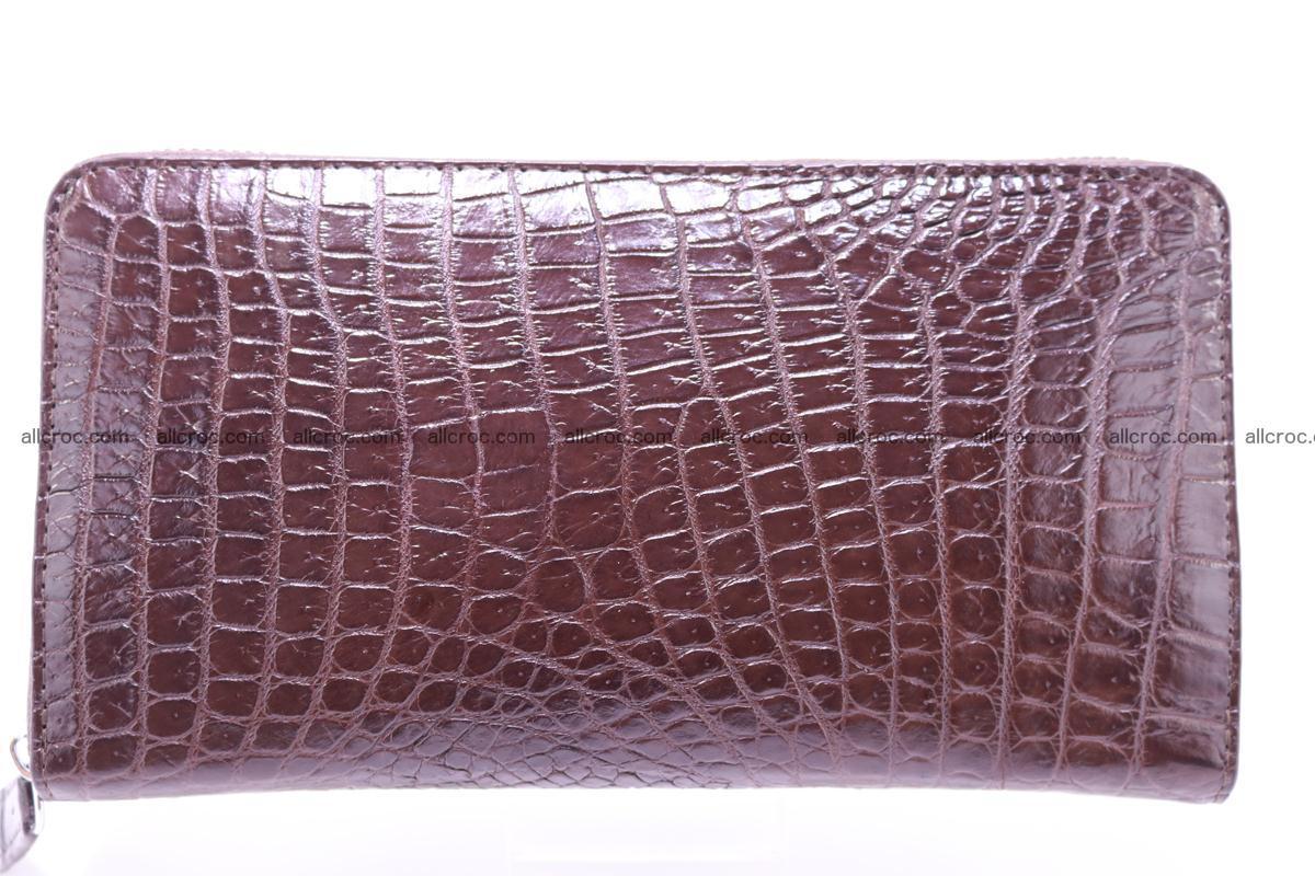 Crocodile wallet-clutch 1 zip 322 Foto 1