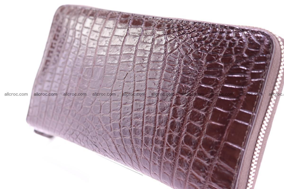 Crocodile wallet-clutch 1 zip 322 Foto 5