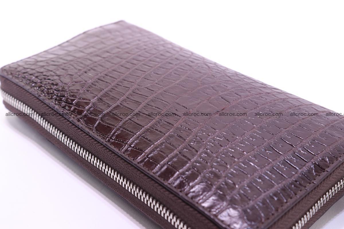 Crocodile wallet-clutch 1 zip 322 Foto 9