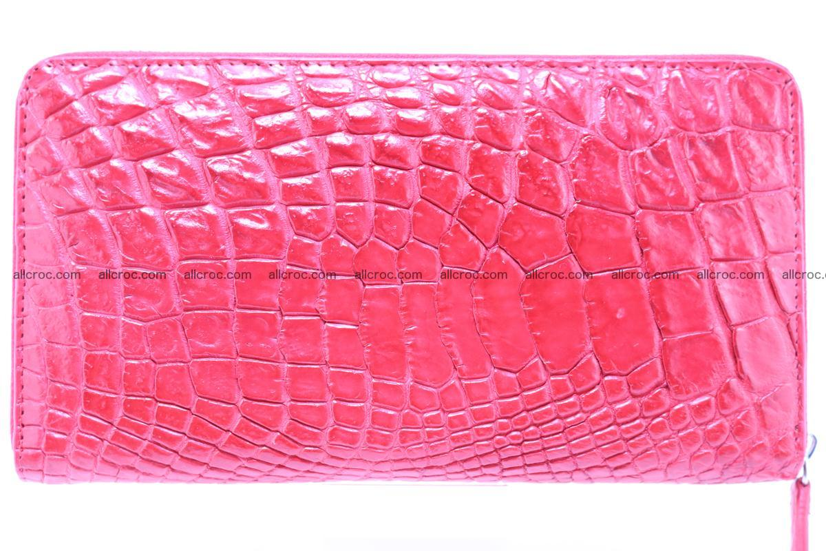Crocodile wallet-clutch 1 zip 321 Foto 0