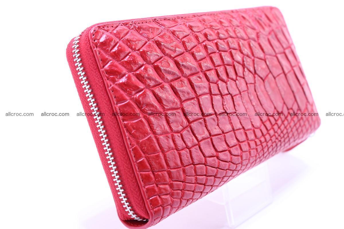 Crocodile wallet-clutch 1 zip 321 Foto 2