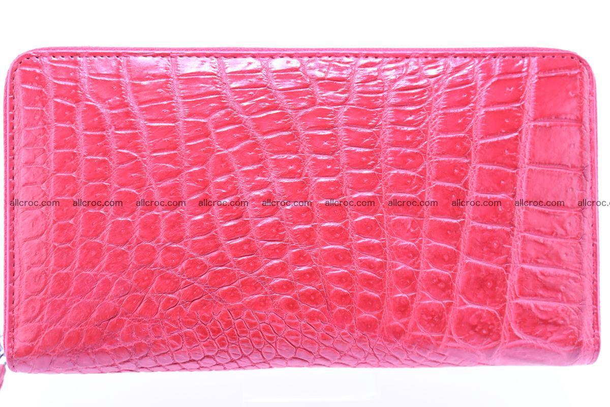 Crocodile wallet-clutch 1 zip 321 Foto 1