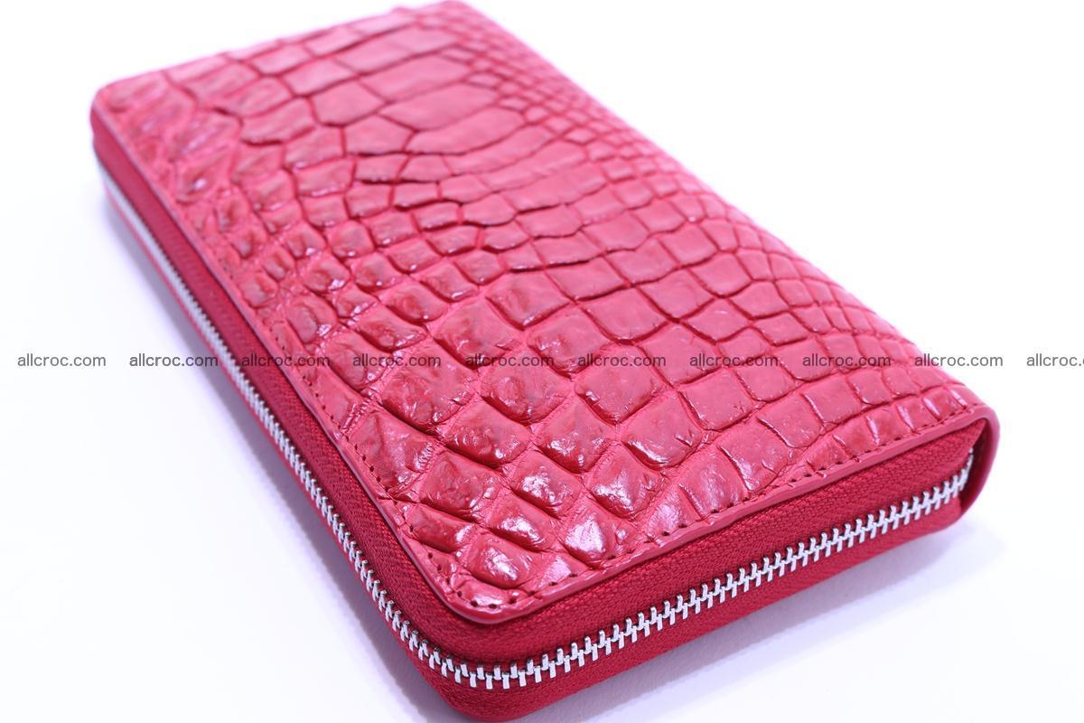 Crocodile wallet-clutch 1 zip 321 Foto 5