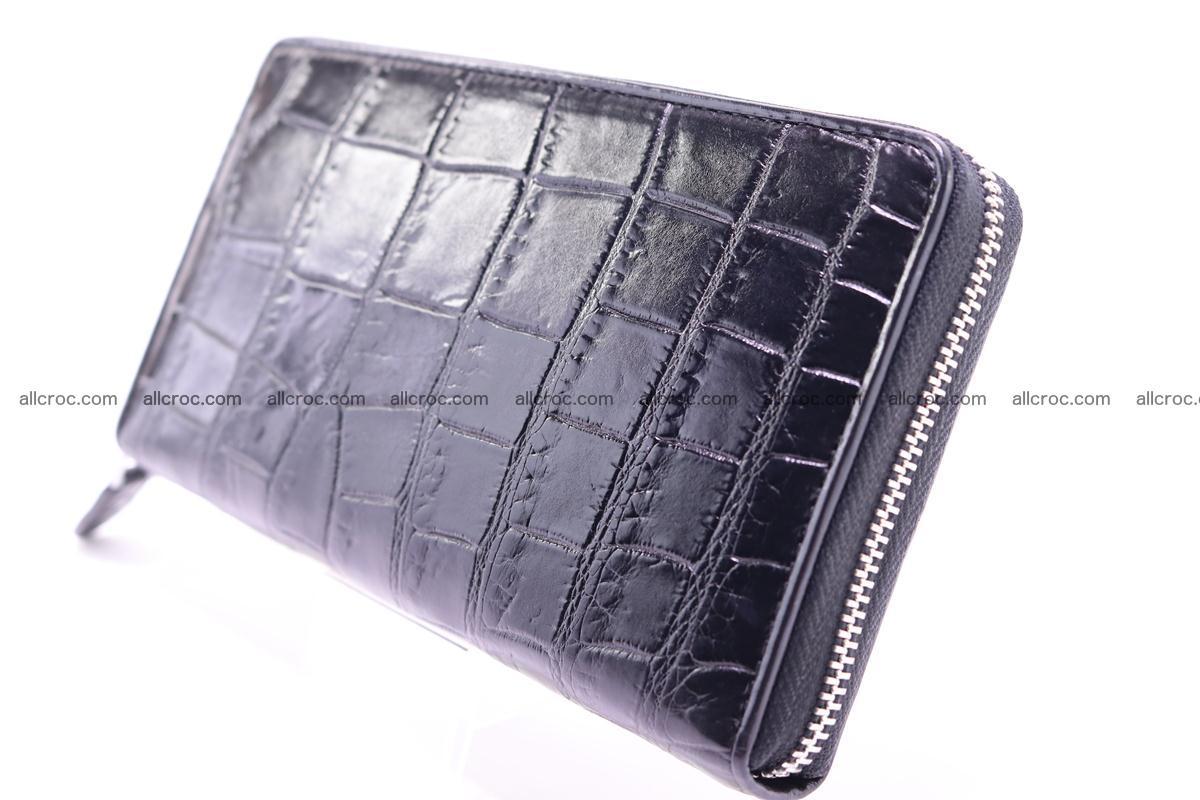 Crocodile wallet-clutch 1 zip 325 Foto 2