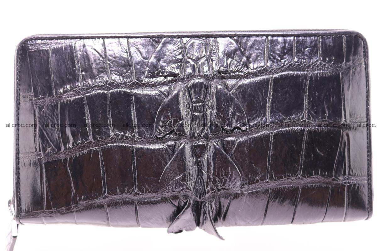 Crocodile wallet-clutch 1 zip 326 Foto 2