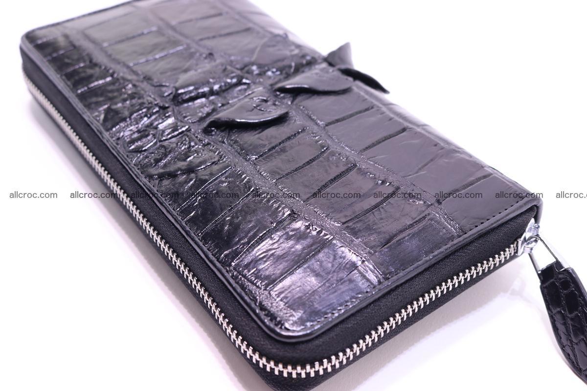 Crocodile wallet-clutch 1 zip 326 Foto 0
