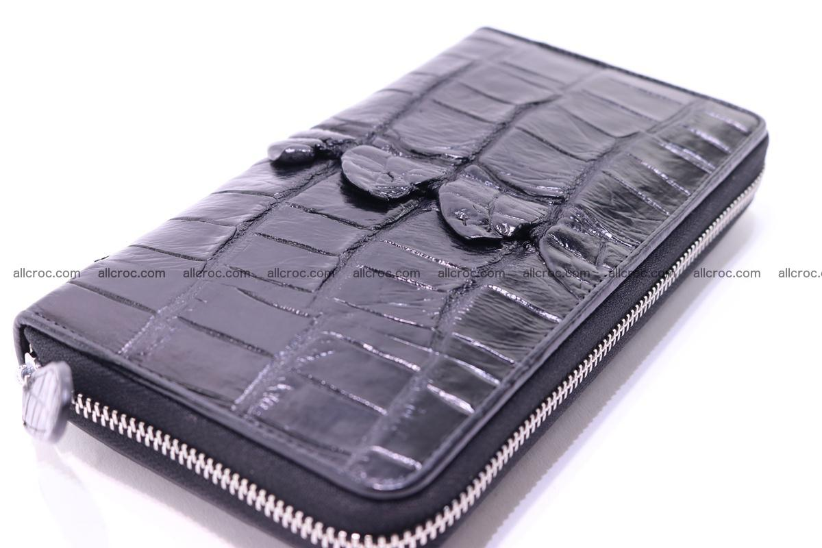 Crocodile wallet-clutch 1 zip 326 Foto 1