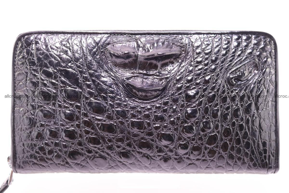 Crocodile wallet-clutch 1 zip 327 Foto 0