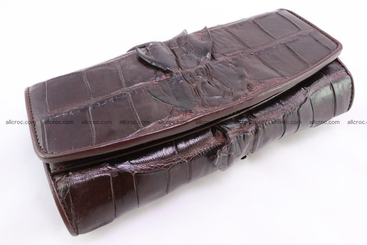 Crocodile wallet for women 297 Foto 2