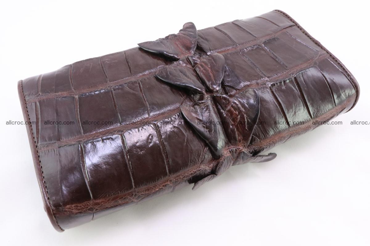 Crocodile wallet for women 297 Foto 3
