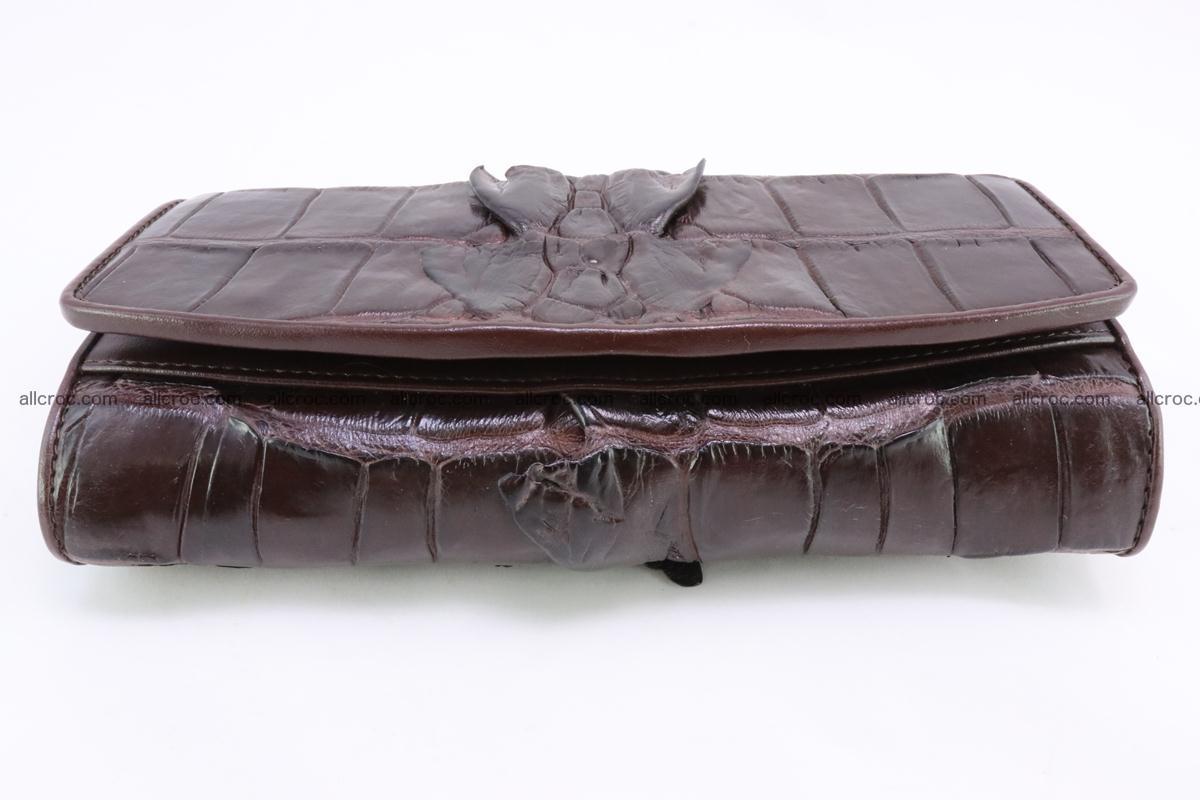 Crocodile wallet for women 297 Foto 4