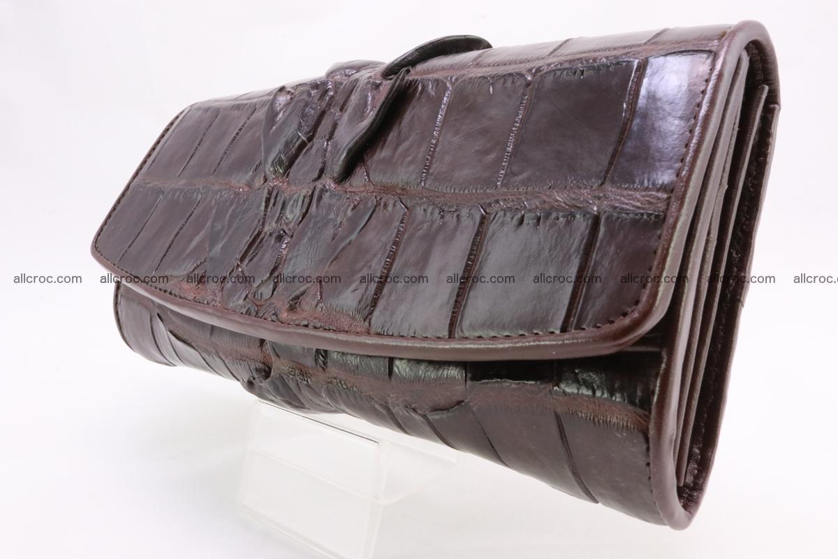 Crocodile wallet for women 297 Foto 5