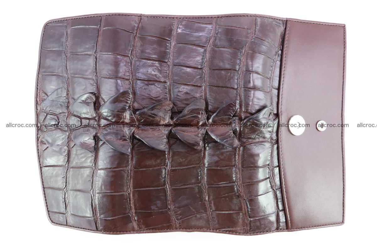 Crocodile wallet for women 297 Foto 7