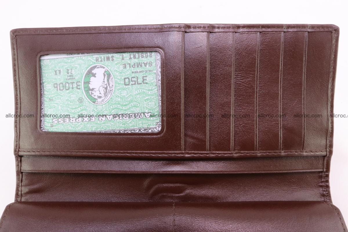 Crocodile wallet for women 297 Foto 9