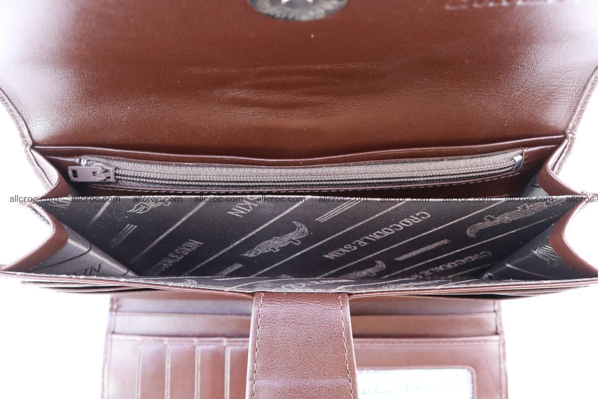 Crocodile wallet for women 297 Foto 12