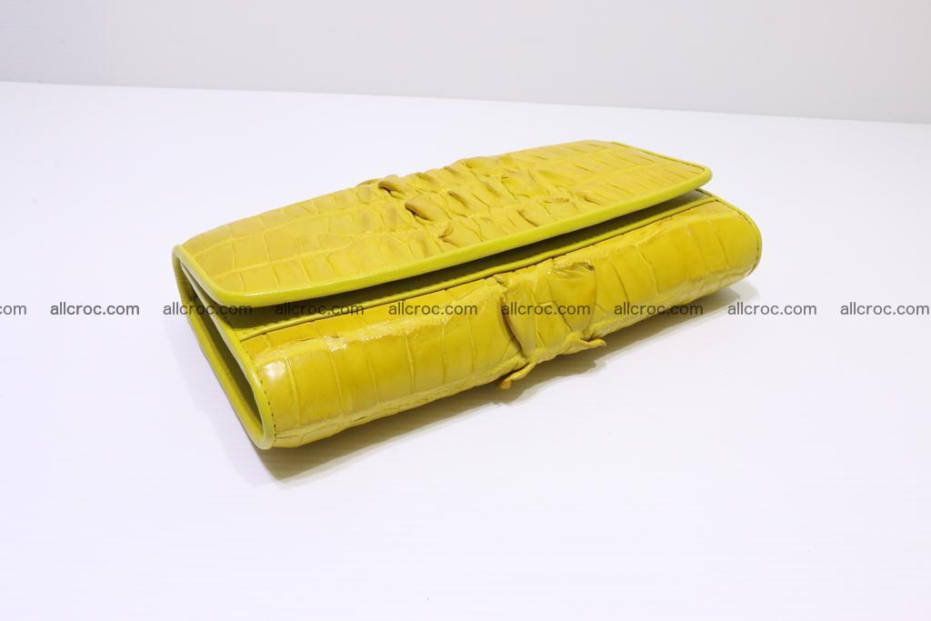 Crocodile wallet for women 298 Foto 3