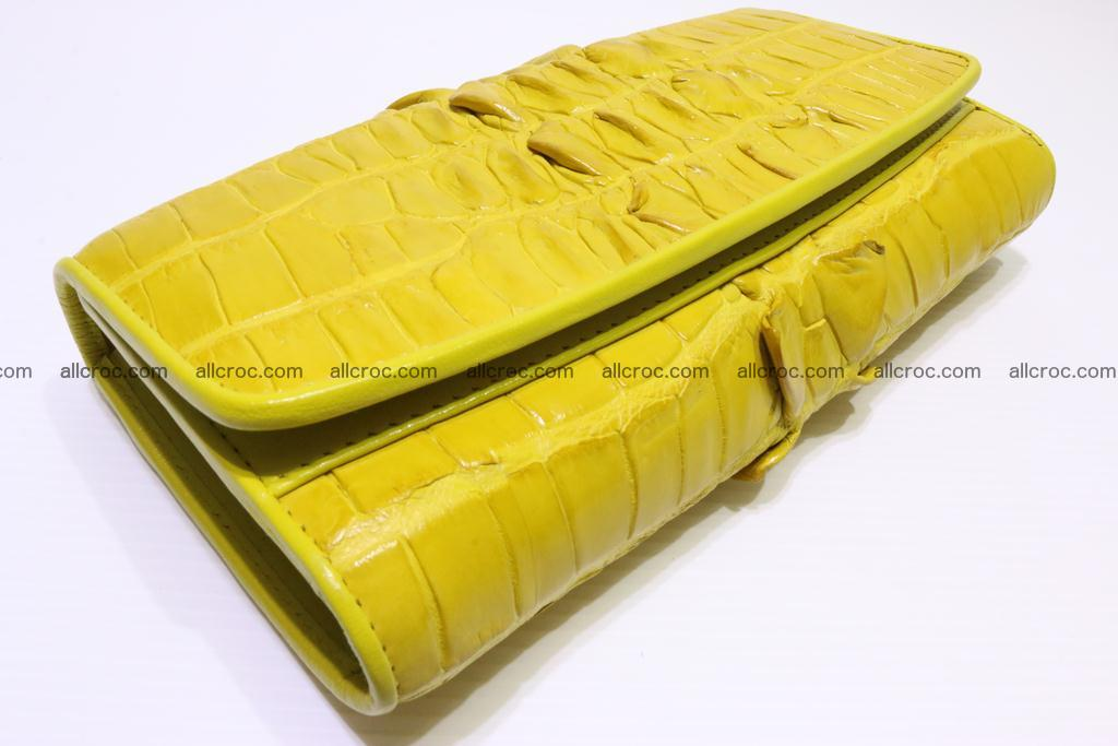 Crocodile wallet for women 298 Foto 4