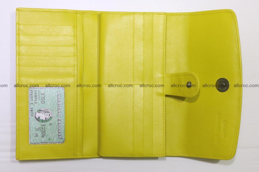 Crocodile wallet for women 298 Foto 12