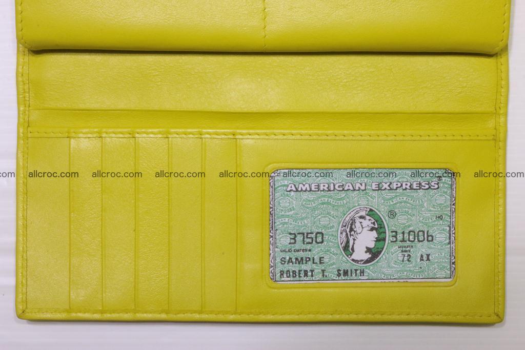 Crocodile wallet for women 298 Foto 13