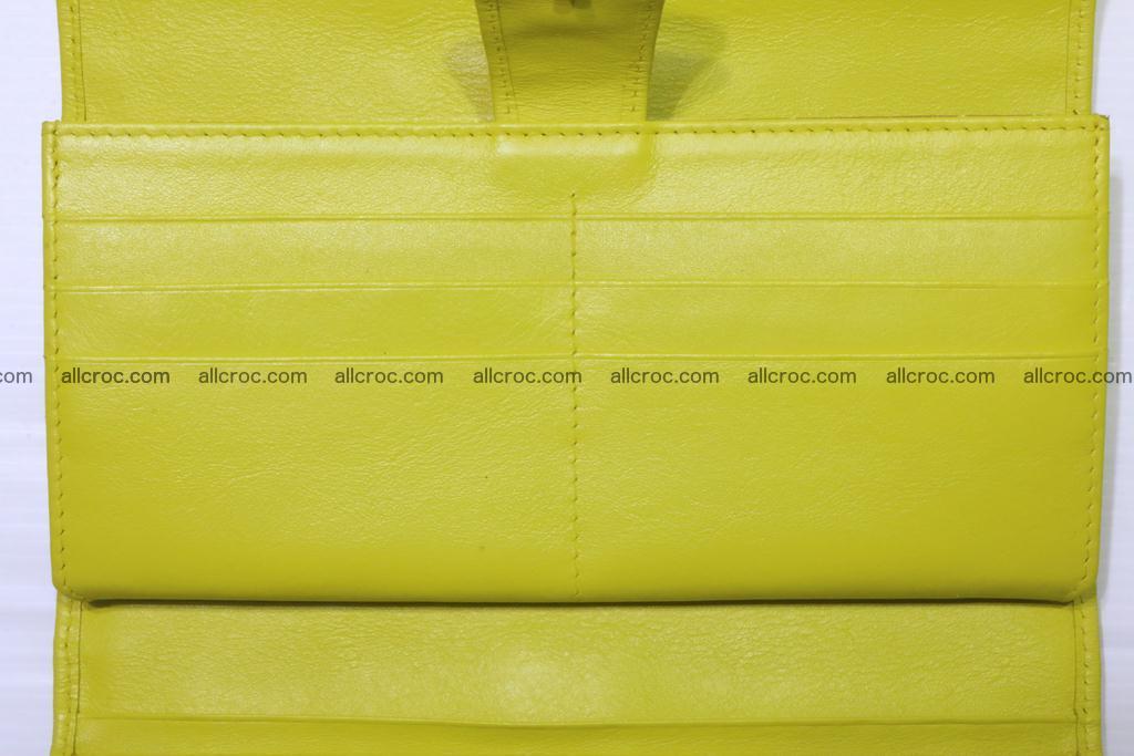 Crocodile wallet for women 298 Foto 14