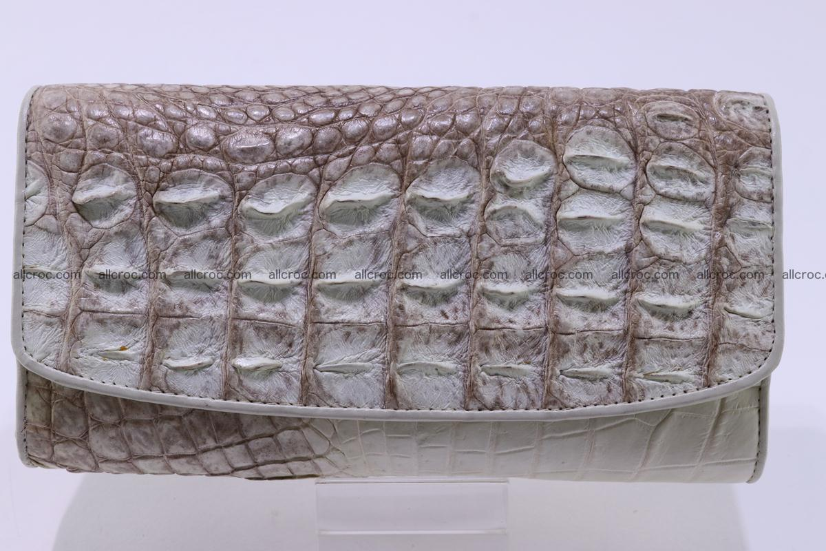 Crocodile wallet for women trifold 280 Foto 0